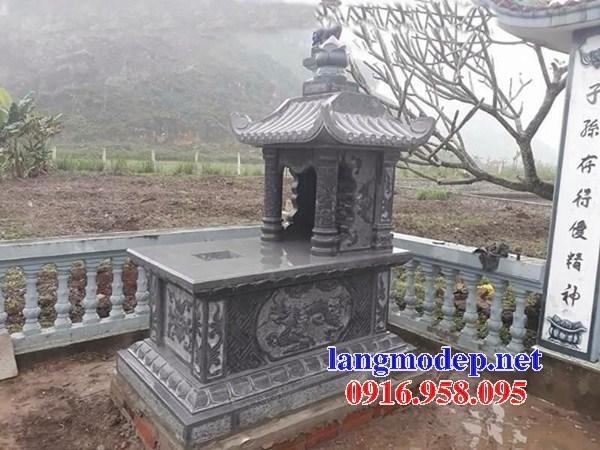 82 Mẫu mộ một mái bằng đá thiết kế đẹp bán tại Bắc Kạn