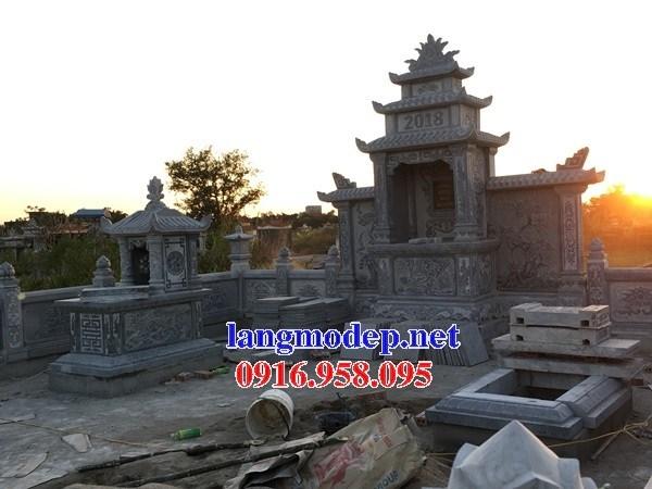 82 Mẫu mộ một mái cất để tro cốt hỏa táng bằng đá đẹp bán tại Bắc Kạn