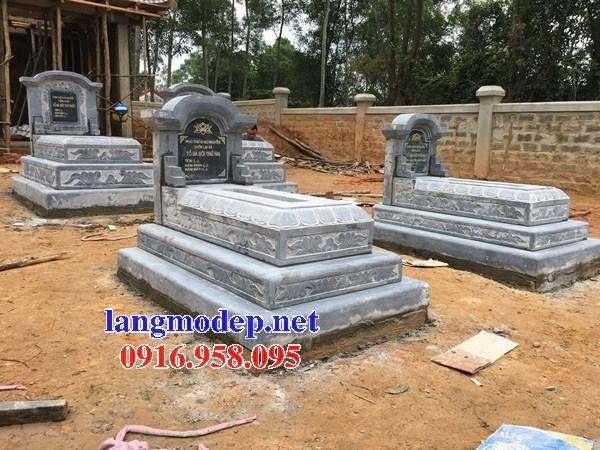 82 Mẫu mộ tam cấp bằng đá đẹp bán tại Bắc Kạn