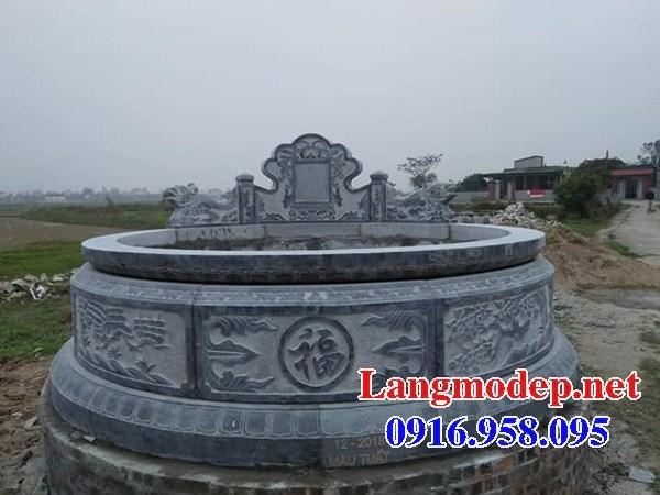 82 Mẫu mộ tròn bằng đá đẹp bán tại Bắc Kạn