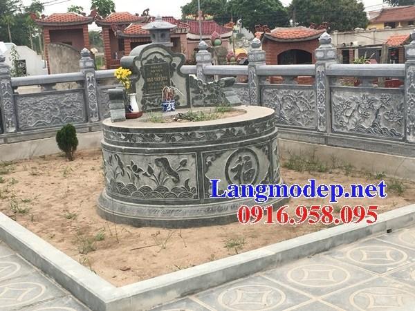 82 Mẫu mộ tròn bằng đá tự nhiên nguyên khối đẹp bán tại Bắc Kạn