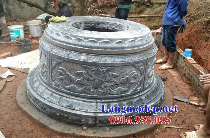 82 Mẫu mộ tròn bằng đá thiết kế đẹp bán tại Bắc Kạn