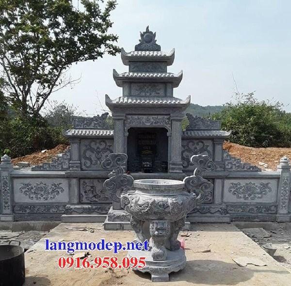 82 Mẫu miếu thờ chung khu lăng mộ gia đình dòng họ bằng đá mỹ nghệ Ninh Bình đẹp bán tại Bắc Kạn