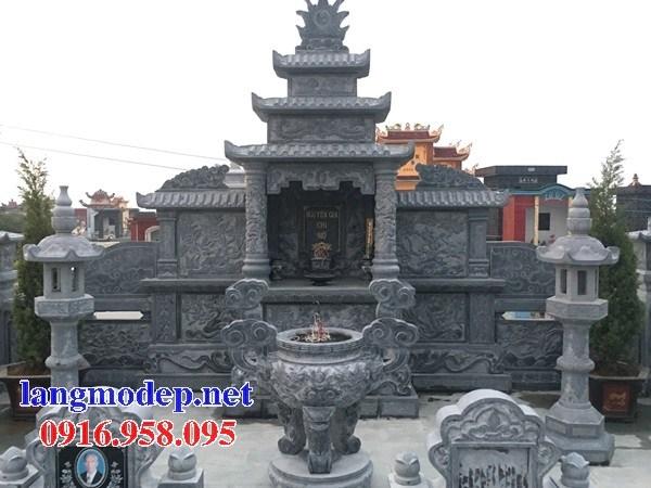 93 Mẫu cây hương thờ chung khu lăng mộ gia đình dòng họ bằng đá đẹp bán tại Ninh Bình