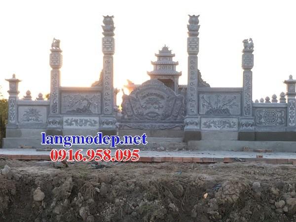 93 Mẫu cổng khu lăng mộ nghĩa trang gia đình dòng họ bằng đá mỹ nghệ Ninh Vân đẹp bán tại Ninh Bình