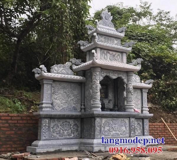 93 Mẫu củng kỳ đài thờ chung khu lăng mộ gia đình dòng họ bằng đá mỹ nghệ Ninh Vân đẹp bán tại Ninh Bình