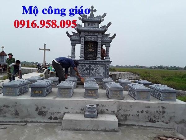 93 Mẫu khu lăng mộ đạo thiên chúa công giáo bằng đá đẹp bán tại Ninh Bình