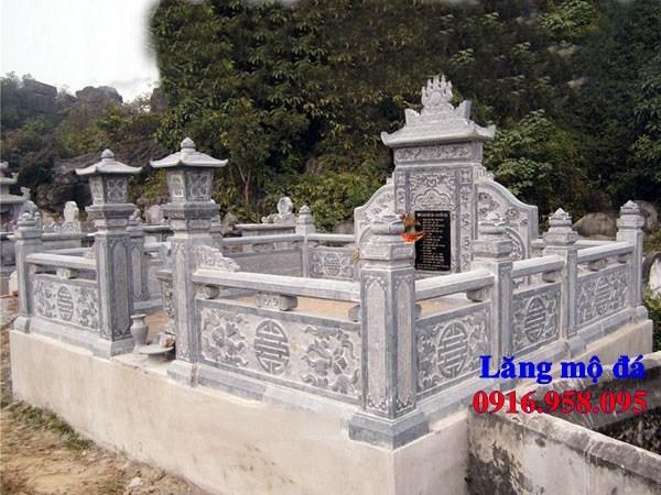 93 Mẫu khu lăng mộ nghĩa trang gia đình dòng họ bằng đá tự nhiên nguyên khối đẹp bán tại Ninh Bình