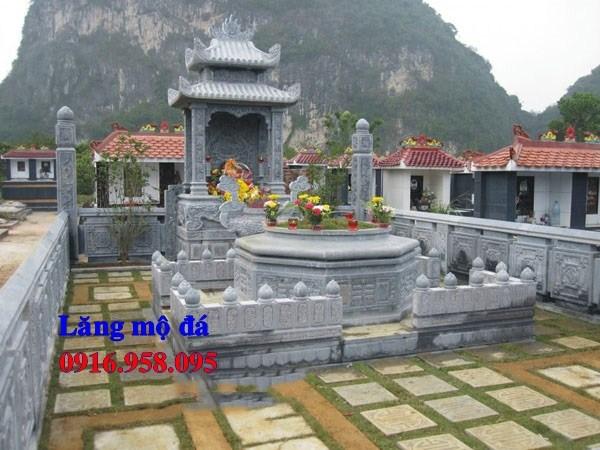 93 Mẫu khu lăng mộ nghĩa trang gia đình dòng họ bằng đá thiết kế đẹp bán tại Ninh Bình