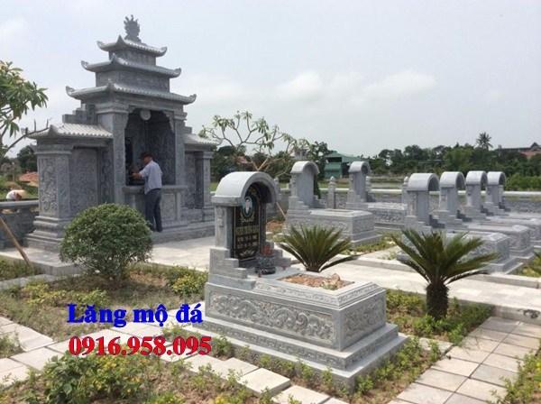 93 Mẫu khu lăng mộ nghĩa trang gia đình dòng họ bằng đá xanh Thanh Hóa đẹp bán tại Ninh Bình