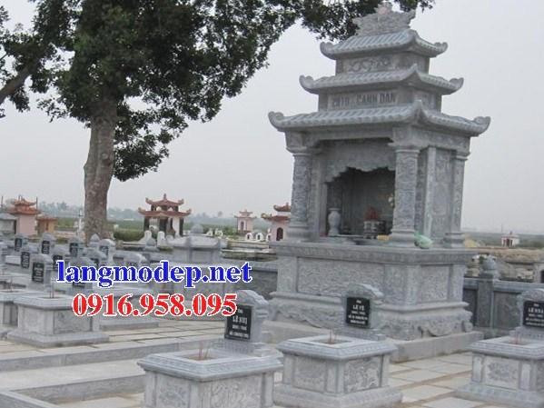 93 Mẫu lăng thờ chung khu lăng mộ gia đình dòng họ bằng đá đẹp bán tại Ninh Bình