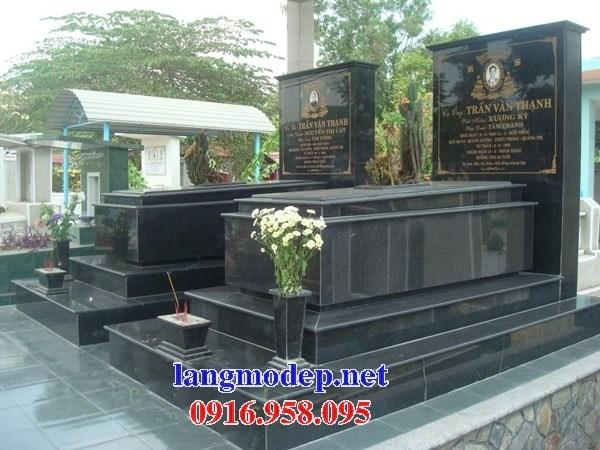 93 Mẫu mộ đá hoa cương tự nhiên đẹp bán tại Ninh Bình