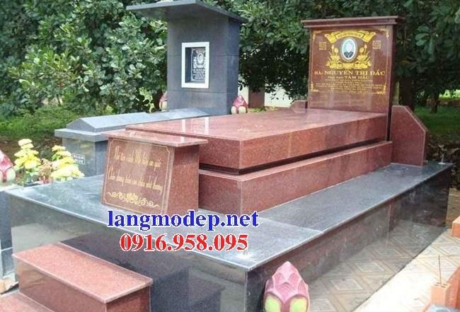 93 Mẫu mộ đá hoa cương thiết kế đẹp bán tại Ninh Bình