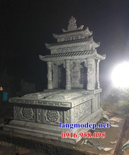 93 Mẫu mộ đôi gia đình bằng đá thiết kế đẹp bán tại Ninh Bình