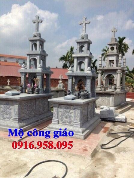 93 Mẫu mộ đạo thiên chúa công giáo bằng đá thiết kế hiện đại đẹp bán tại Ninh Bình