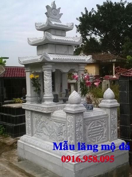 93 Mẫu mộ ba mái bằng đá đẹp bán tại Ninh Bình