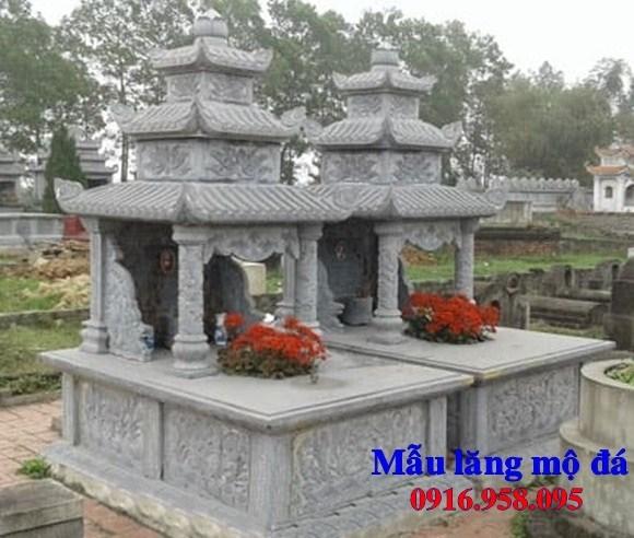 93 Mẫu mộ ba mái bằng đá thiết kế đẹp bán tại Ninh Bình