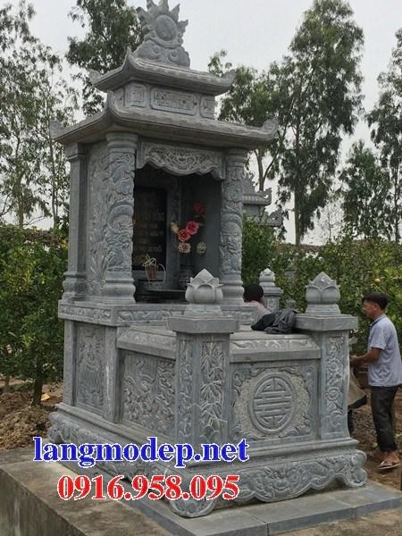 93 Mẫu mộ hai mái bằng đá thiết kế hiện đại đẹp bán tại Ninh Bình