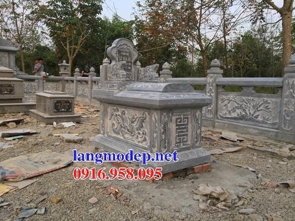 93 Mẫu mộ không mái bằng đá đẹp bán tại Ninh Bình