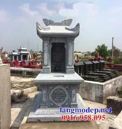 93 Mẫu mộ một mái bằng đá đẹp bán tại Ninh Bình