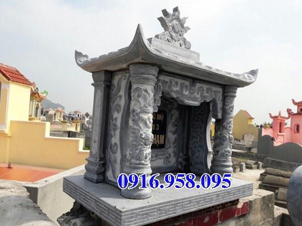 93 Mẫu mộ một mái bằng đá thiết kế đơn giản đẹp bán tại Ninh Bình