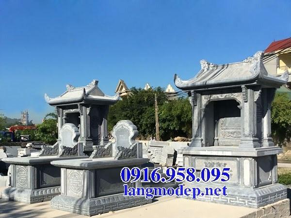 93 Mẫu mộ một mái cất để tro cốt hỏa táng bằng đá đẹp bán tại Ninh Bình