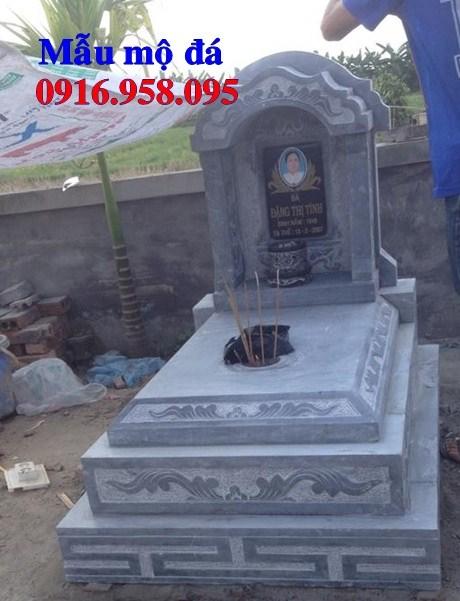 93 Mẫu mộ tam cấp cất để tro cốt hỏa táng bằng đá đẹp bán tại Ninh Bình