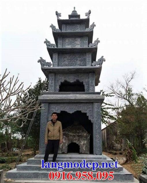 93 Mẫu mộ tháp bằng đá thiết kế hiện đại đẹp bán tại Ninh Bình