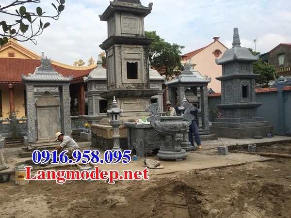 93 Mẫu mộ tháp cất để tro cốt hỏa táng bằng đá đẹp bán tại Ninh Bình