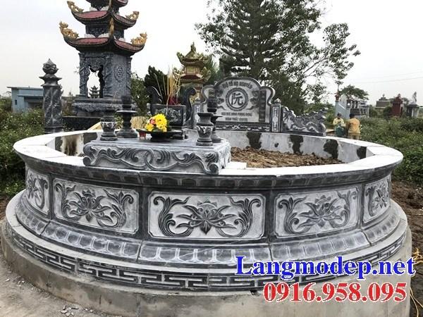 93 Mẫu mộ tròn bằng đá mỹ nghệ Ninh Vân đẹp bán tại Ninh Bình