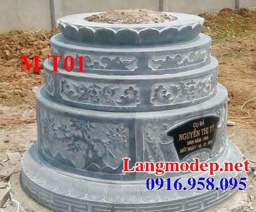 93 Mẫu mộ tròn bằng đá thiết kế hiện đại đẹp bán tại Ninh Bình