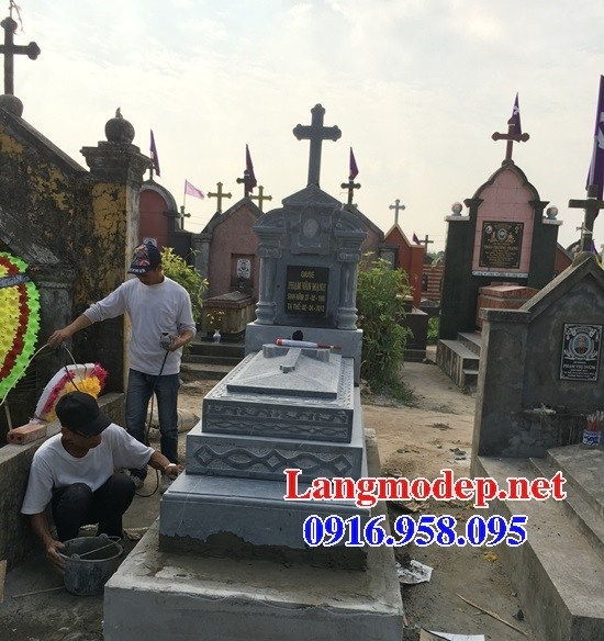 94 Mẫu mộ đạo thiên chúa công giáo bằng đá đẹp bán tại Cao Bằng