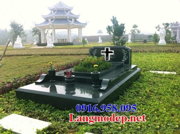 94 Mẫu mộ đạo thiên chúa công giáo bằng đá hoa cương đẹp bán tại Cao Bằng