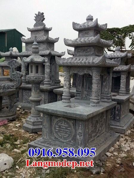 94 Mẫu mộ ba mái bằng đá đẹp bán tại Cao Bằng