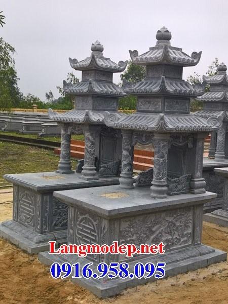 94 Mẫu mộ ba mái bằng đá thiết kế đẹp bán tại Cao Bằng