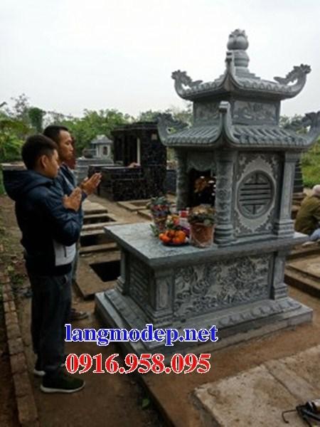94 Mẫu mộ hai mái bằng đá đẹp bán tại Cao Bằng
