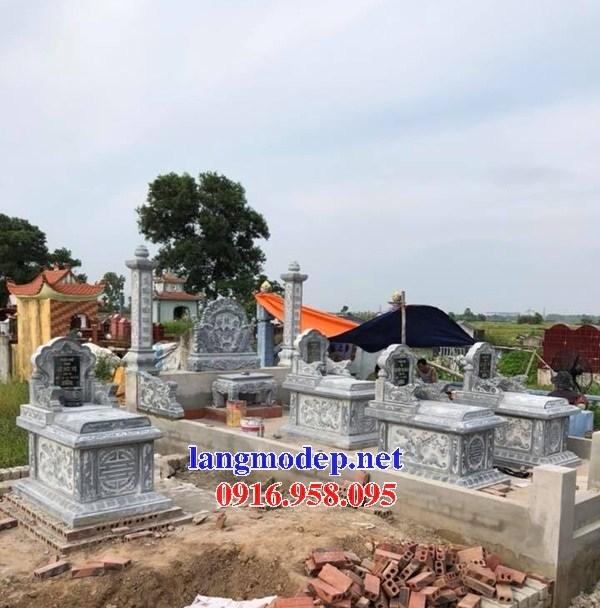 94 Mẫu mộ không mái bằng đá mỹ nghệ Ninh Bình đẹp bán tại Cao Bằng