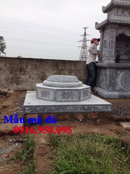 94 Mẫu mộ lục lăng bát giác bằng đá thiết kế đẹp bán tại Cao Bằng