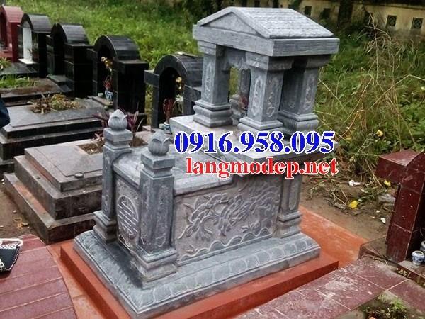94 Mẫu mộ một mái bằng đá đẹp bán tại Cao Bằng