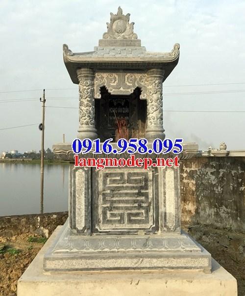 94 Mẫu mộ một mái bằng đá mỹ nghệ Ninh Bình đẹp bán tại Cao Bằng