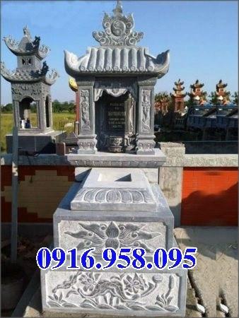 94 Mẫu mộ một mái bằng đá thiết kế đẹp bán tại Cao Bằng