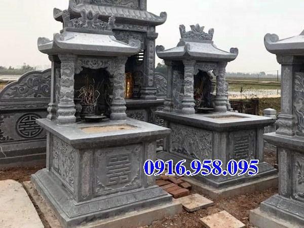 94 Mẫu mộ một mái bằng đá thiết kế hiện đại đẹp bán tại Cao Bằng
