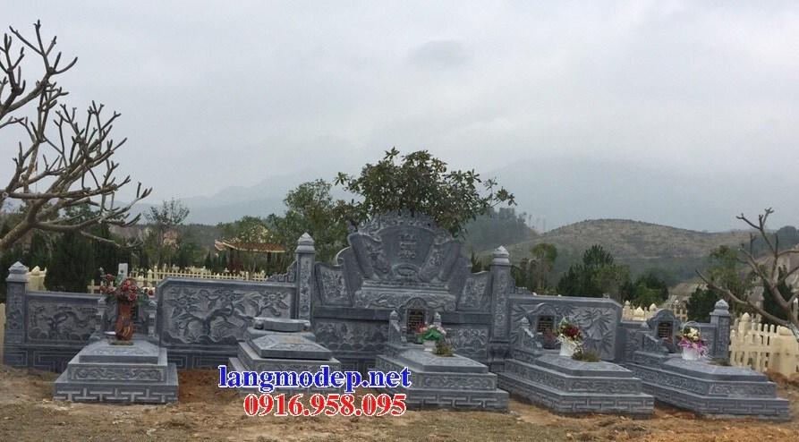 94 Mẫu mộ tam cấp bằng đá thiết kế hiện đại đẹp bán tại Cao Bằng