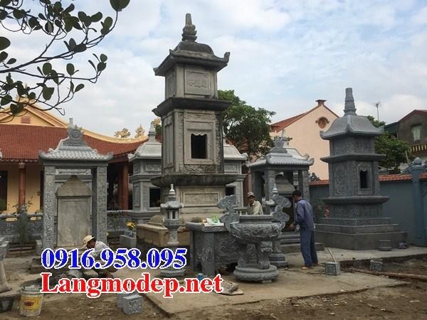 94 Mẫu mộ tháp bằng đá đẹp bán tại Cao Bằng