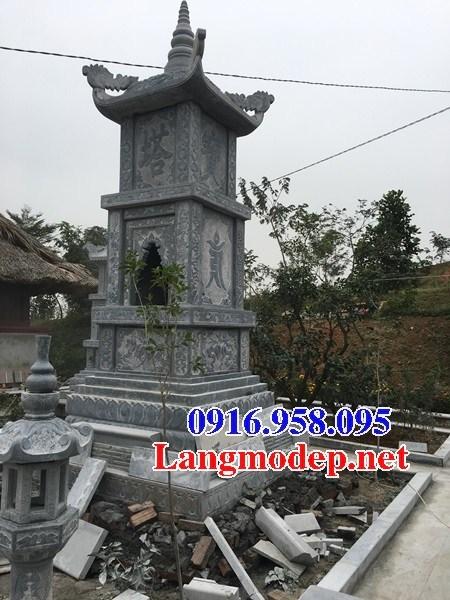 94 Mẫu mộ tháp cất để tro cốt hỏa táng bằng đá đẹp bán tại Cao Bằng