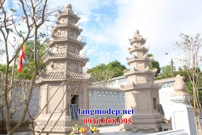 94 Mẫu mộ tháp phật giáo sư trụ trì bằng đá đẹp bán tại Cao Bằng