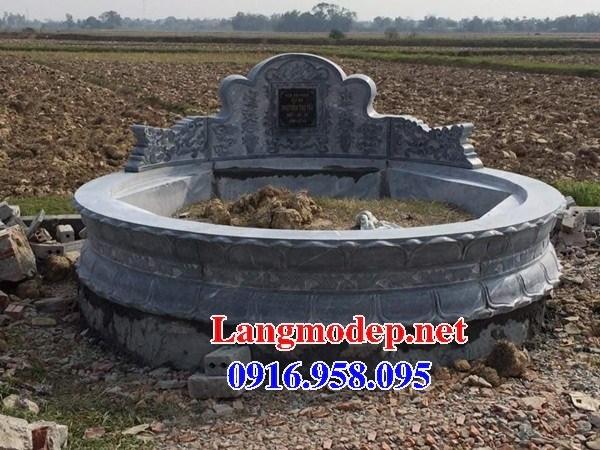 94 Mẫu mộ tròn bằng đá đẹp bán tại Cao Bằng