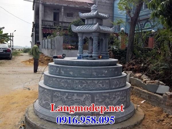 94 Mẫu mộ tròn bằng đá mỹ nghệ Ninh Bình đẹp bán tại Cao Bằng