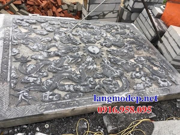 86 Mẫu Địa chỉ bán báo giá chiếu rồng nhà thờ họ đình đền chùa miếu khu lăng mộ bằng đá tại Tuyên Quang