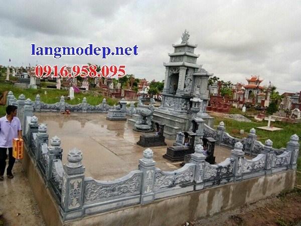 86 Mẫu Hình ảnh lan can tường rào nhà thờ họ đình đền chùa miếu khu lăng mộ bằng đá tại Tuyên Quang
